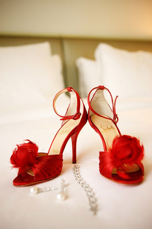 Rote Hochzeitsschuhe Rote Schuhe Red Shoes Pinterest Rote