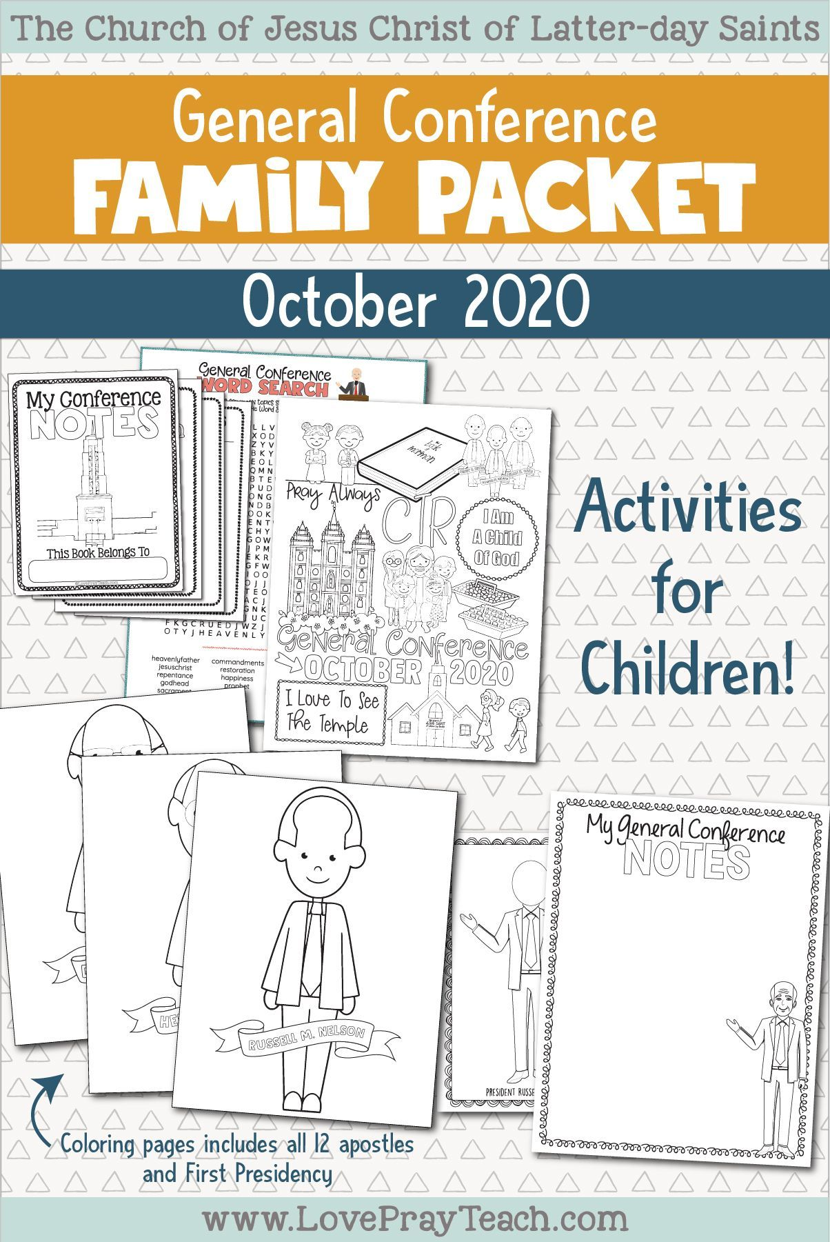 General Conference Family Packet In 2020 General Conference Activities General Conference General Conference Notes