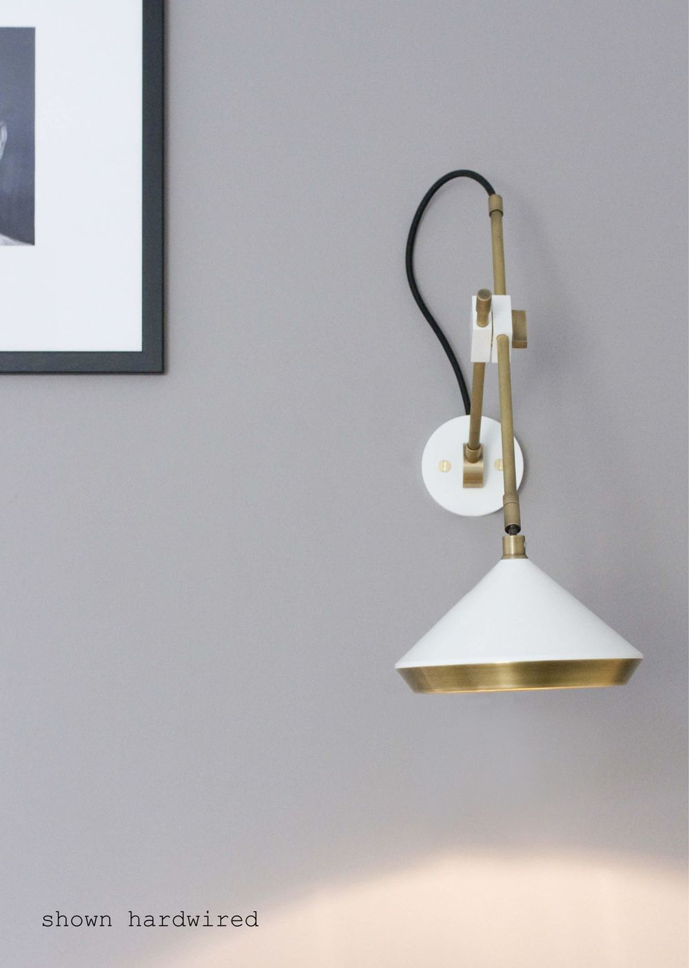Shear Wall Light | Wall lights, Brass wall light, Wall lamp on Non Wired Wall Sconces id=64437