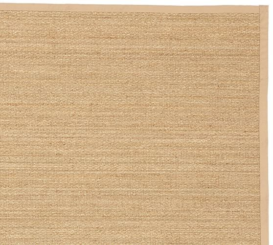 Fibreworks Custom Color Bound Seagrass Rug Natural Seagrass Rug Natural Rug Rugs