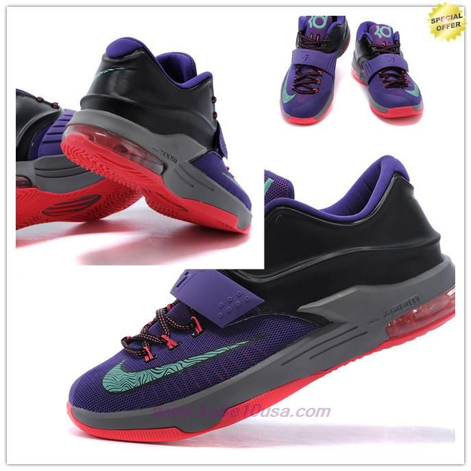new style 62eae f6ea8 Where To Get Cave Purple Bleached Turquoise-Hyper Grape-Magnet Grey  653996-535 Nike KD 7,VII