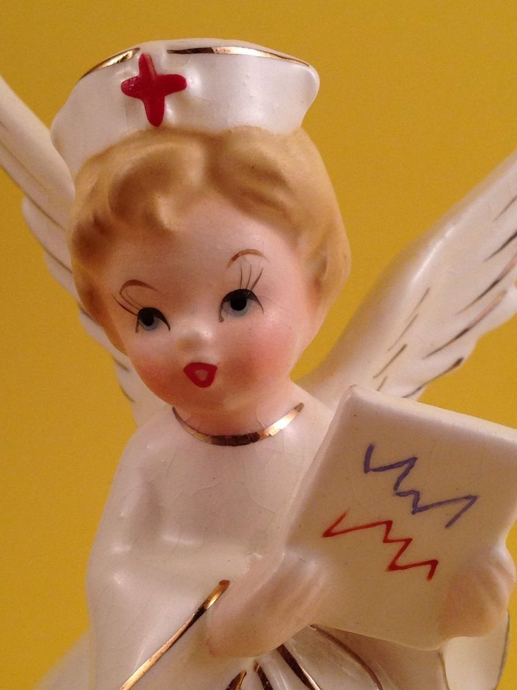 Nurse Figurine From 2002 American Nurses Association