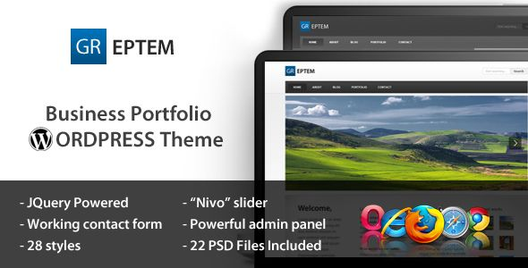 Deals GREPTEM - Business & Portfolio Wordpress Themeso please read the important details before your purchasing anyway here is the best buy