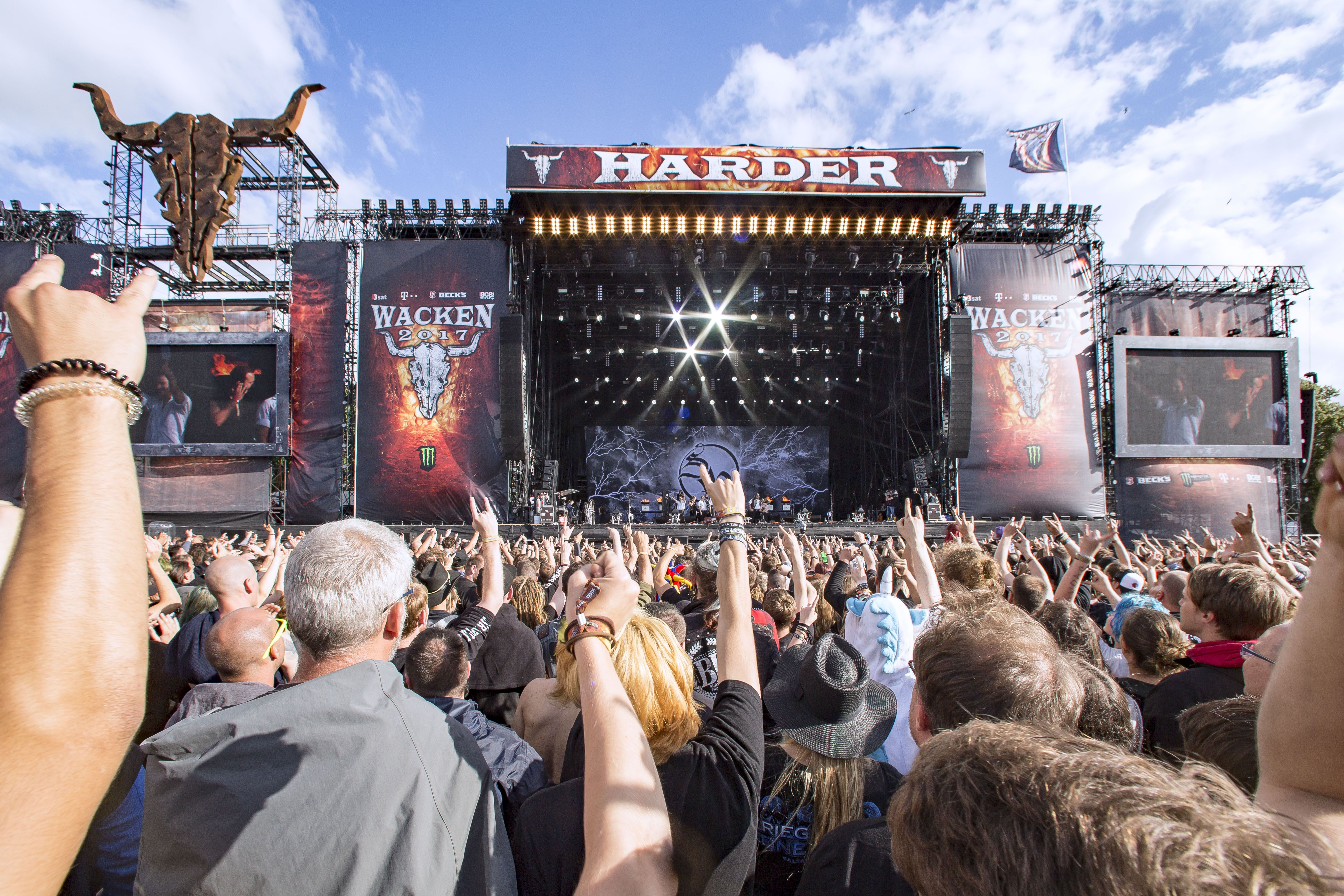 75.000 fans celebrated the worlds largest heavy metal