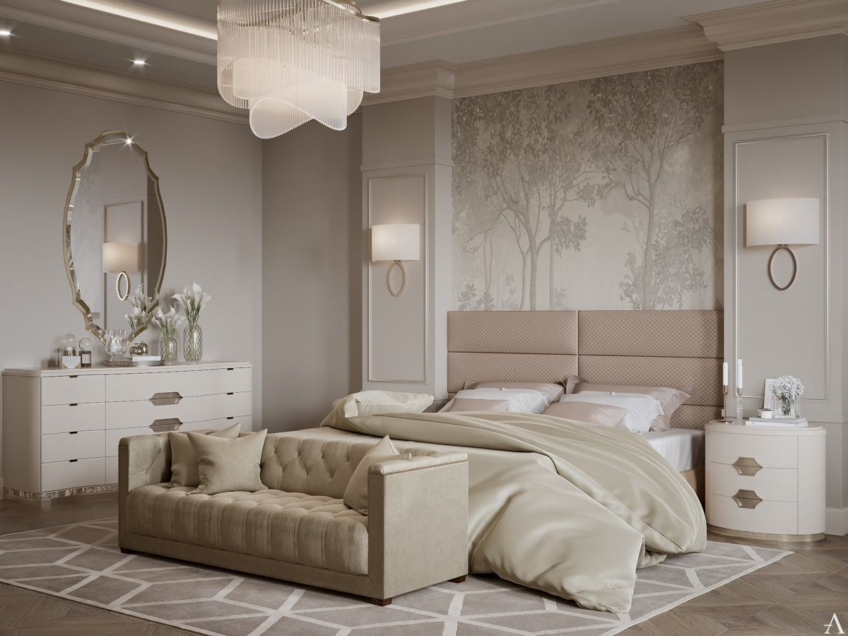 40 Transitional Bedrooms That Beautifully Bridge Modern ...