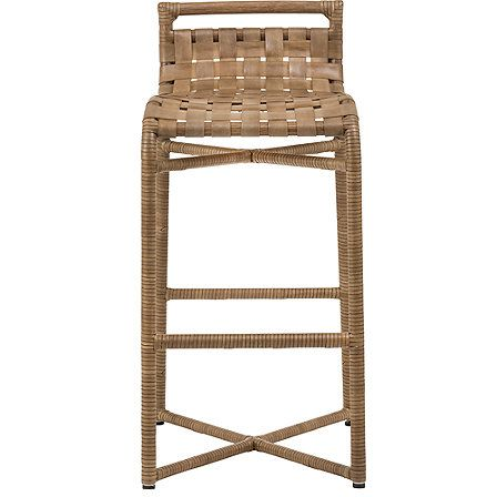 Mcguire Furniture Steven Volpe Crin Counter Stool No O