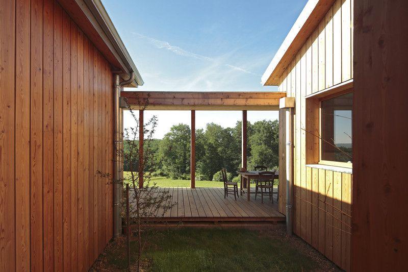 Prix national de la construction bois - PNCB 2014 - Maison péristyle