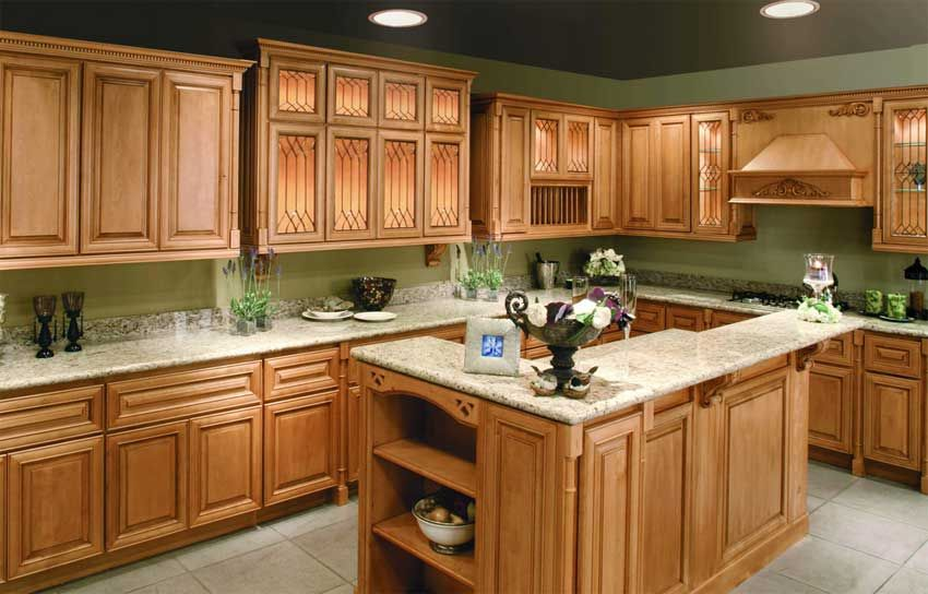 Best Light Green Kitchen Walls With Oak Cabinets Google 400 x 300