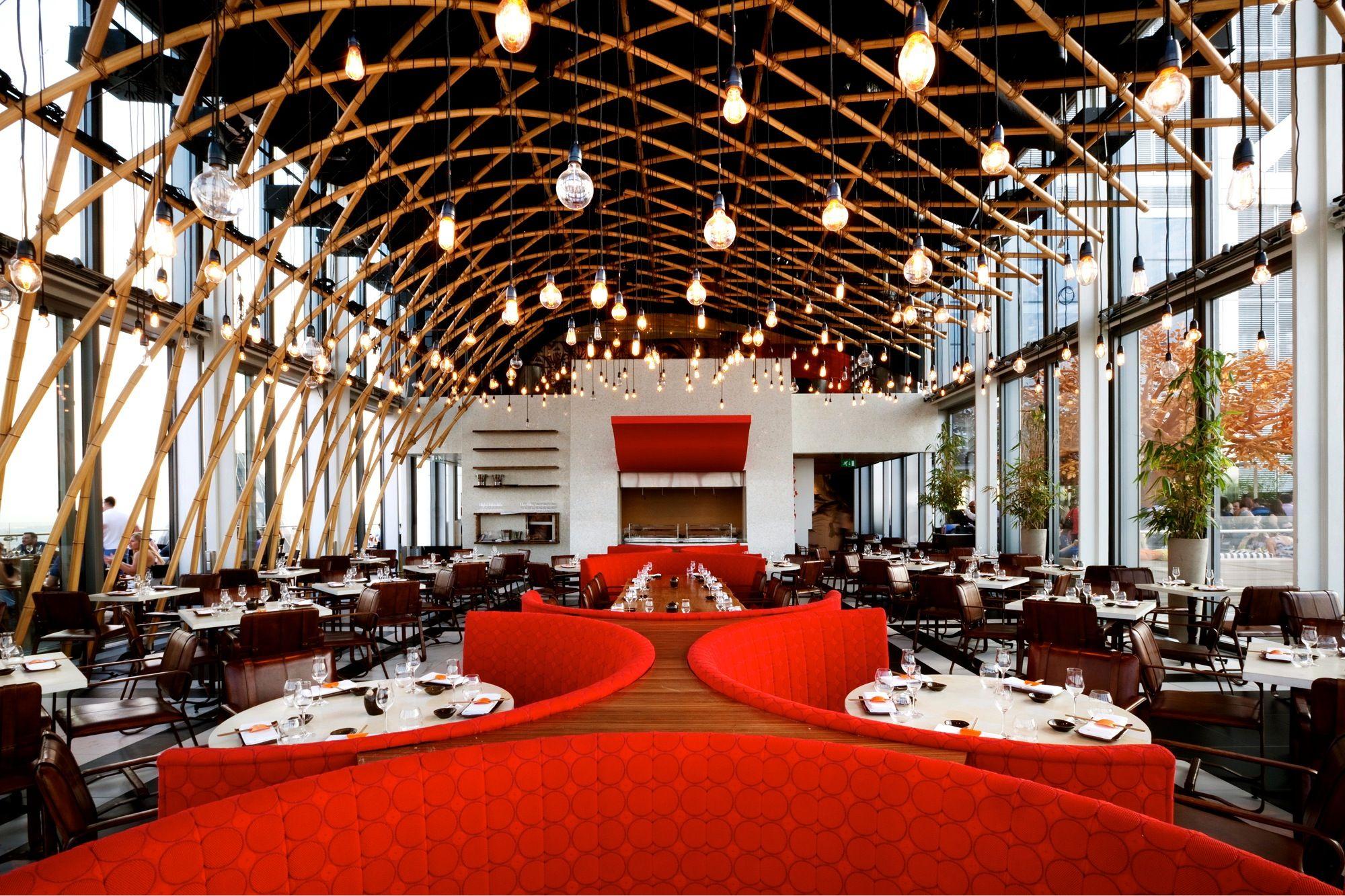 Sushisamba London Sushisamba Rooftop Restaurant Luxury Restaurant Restaurant Design