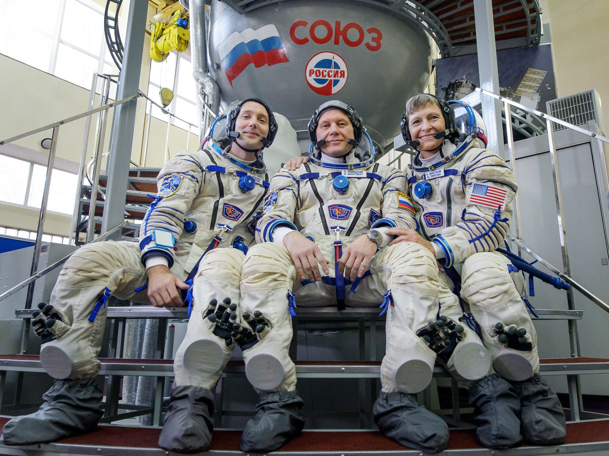 Watch Three New Astronauts Launch to the International Space Station
