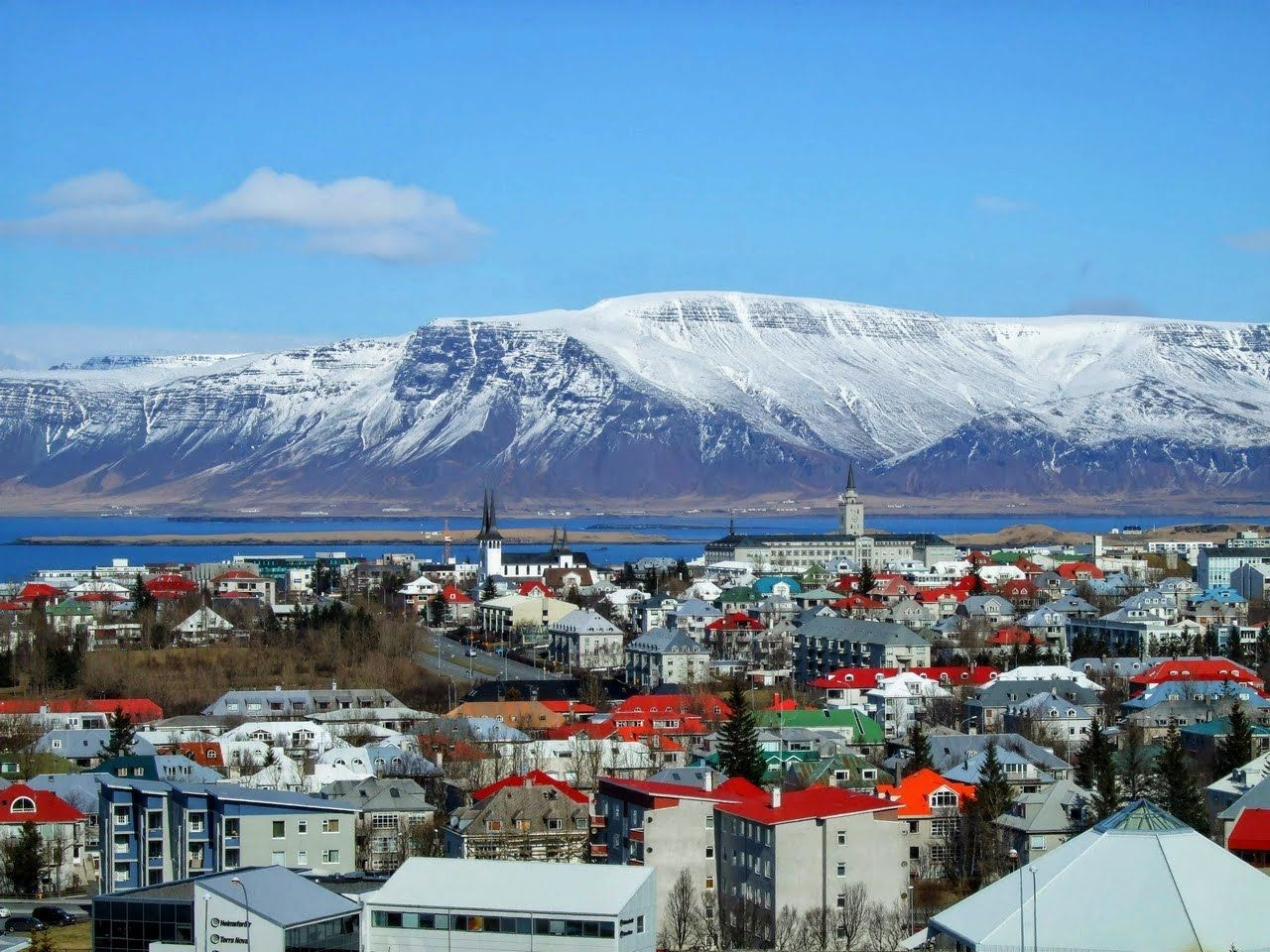 Reykjavik Is The Capital And Largest City In Iceland Its Latitude - Iceland latitude