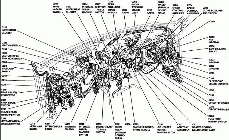 12 94 Ford Ranger Engine Wiring Diagram Engine Diagram Wiringg Net Ford Ranger Ford Ranger Lifted Chevy Diesel Trucks