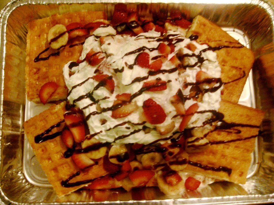 Waffles Cake