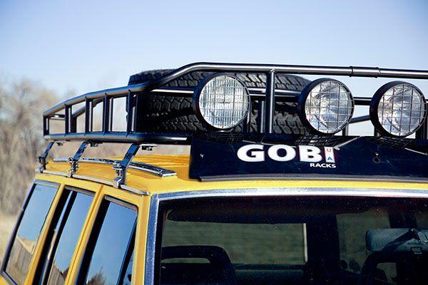 Gobi Jeep Cherokee Xj Ranger Tire Carrier Roof Rack Gjcrt Jeep