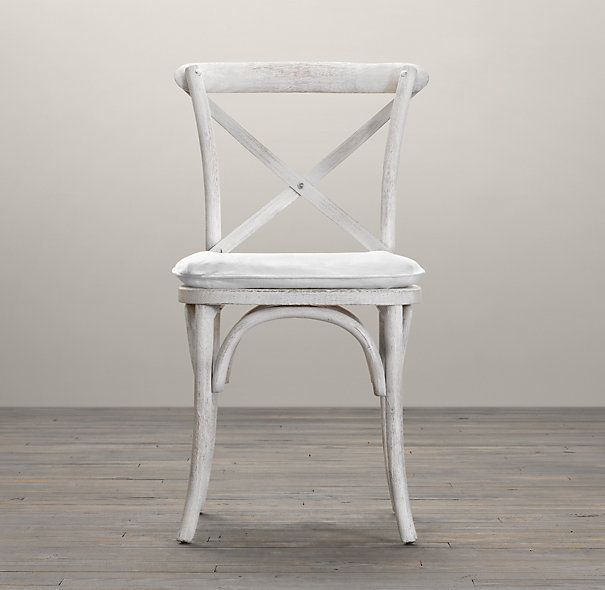Madeleine Side Chair Stained Wood Restoration Hardware