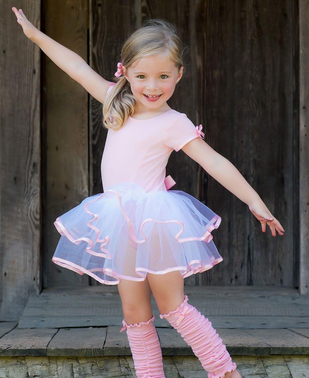 96887aa92 Short Sleeve Pink   White Tutu Leotard
