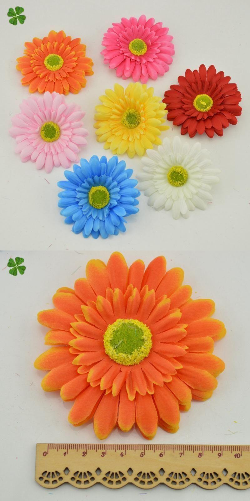 Visit To Buy 9 Cm Daisy Silk Fake Flower Gerbera Artificial Flowers