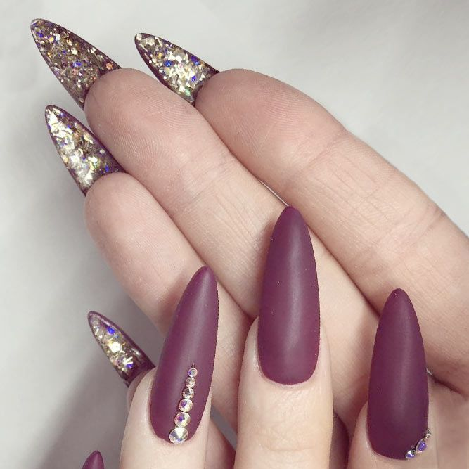 21 Startling Ideas of Stilettos Nails to Obsess About | Long ...