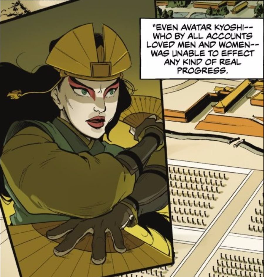 The Last Airbender Avatar Kyoshi: 'The Legend Of Korra' Reveals Another Avatar Was Bisexual