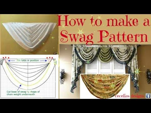 Two Part Series On How To Make And Pleat A Swag Valance By Scott