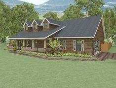Cd235j house floor plan 2 628 3 bedroom 2 5 bath 1 story country style