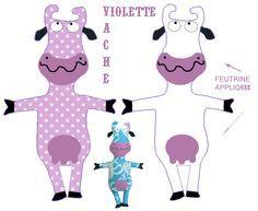 Couture Couture 1 Et 2 Et 3 Doudous Patrons Patterns Gabarits Fete A Themes Pour Enfants Doudou Vache Doudou Patron Doudou