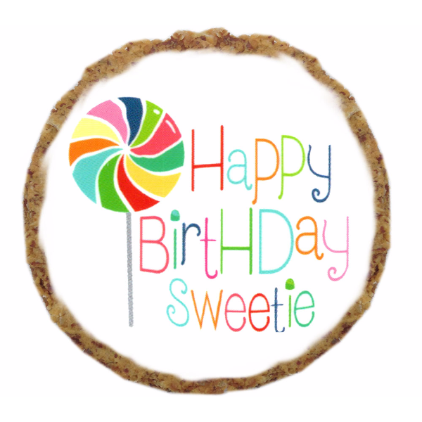 Happy Birthday Sweetie Dog Treats