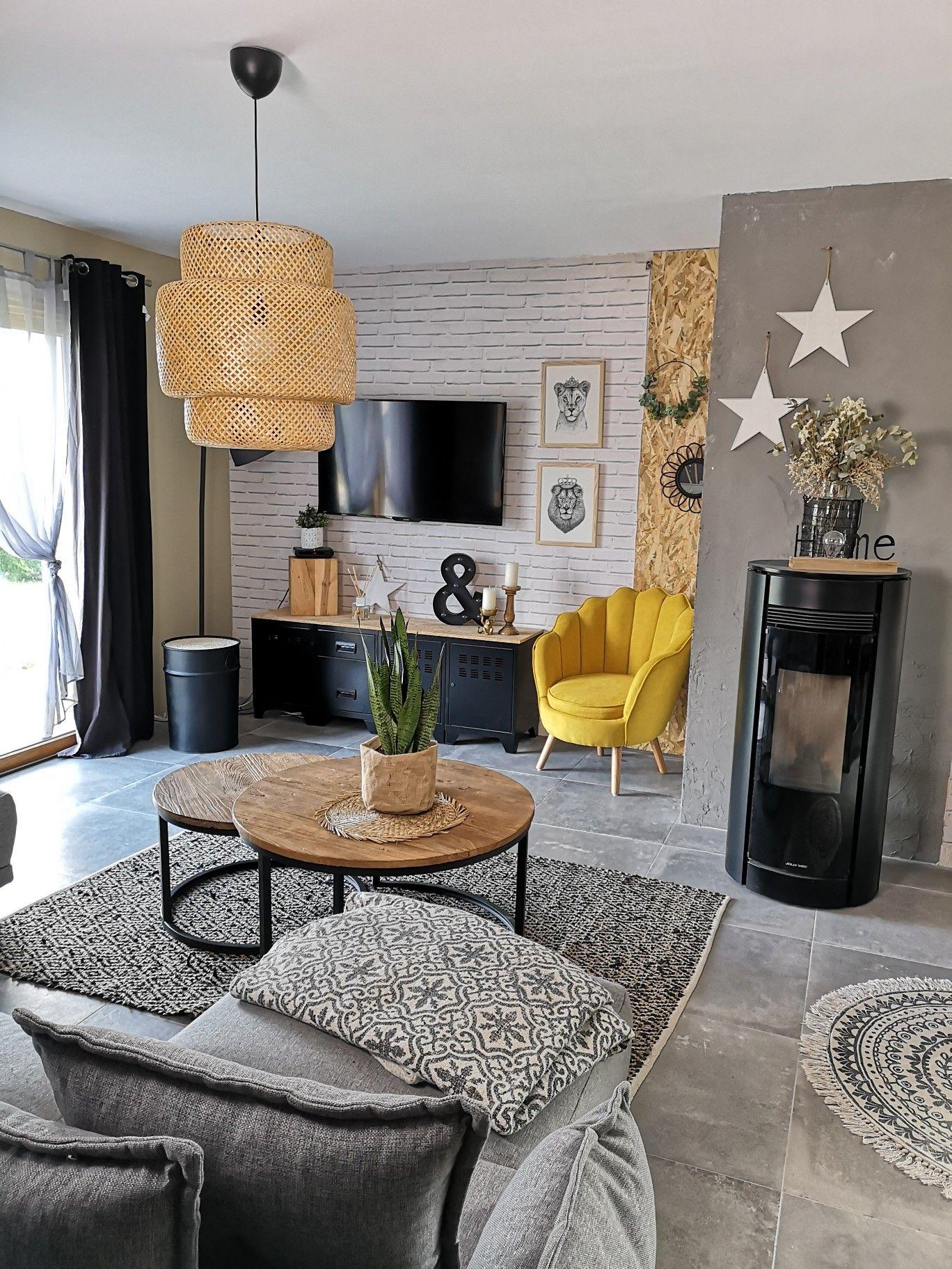 Fauteuil / livingroom /salon / déco industrielle / décoration   Mobilier de salon