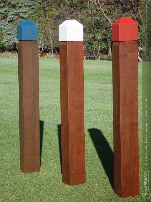 Rinowood Color Top Fairway Yardage Posts Yardage Outdoor Decor Markers
