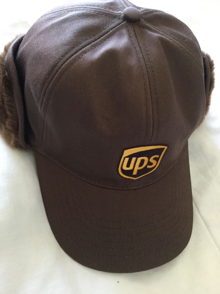 UPS HAT Cotton Adjustable Service Ball Cap Winter Hat With Ear Muffs   fashion  clothing  shoes  accessories  mensaccessories  hats (ebay link) 256c48eeaf39