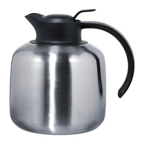 sluka vacuum flask stainless steel things i need at ikea pinterest isotherme acier. Black Bedroom Furniture Sets. Home Design Ideas