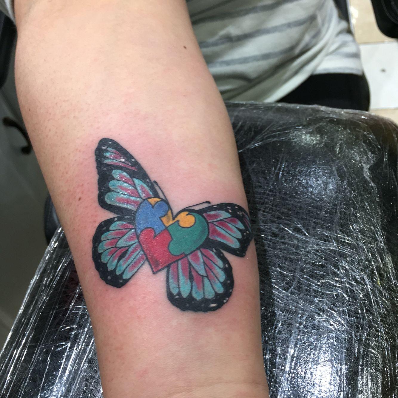 Autism Symbol Tattoo Tattoos Pinterest Tattoos Symbolic