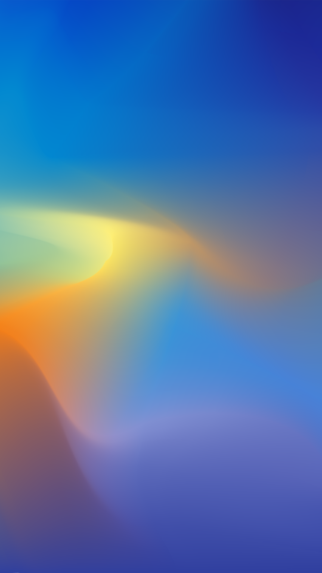 Blue Yellow Gradient Abstract 1080x1920 Wallpaper Orange Wallpaper Cool Wallpapers For Phones Abstract