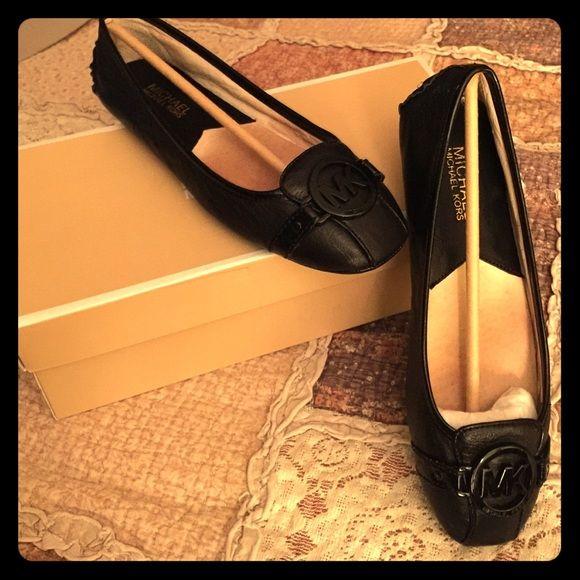 Michael Kors Fulton Moc. Flat Black Michael Kors Fulton Moc flat. Size 7 Michael Kors Shoes