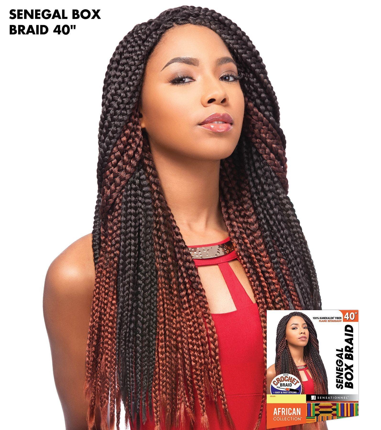sensationnel african collection crochet braid - senegal box braid
