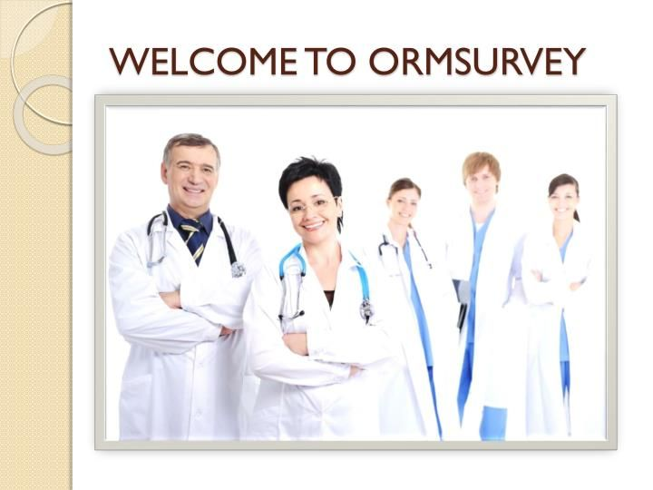 Healthcare Online Reputation Management- ORM is developed for health care surveys, Improving patient Satisfaction, is an important factor for hospital\'s finances-a lot of facilities are struggling to improve and keep its score high, We at ORM do the needful tasks in medical industry to improve patient satisfaction.\n\nFor More Information please Visit : https://ormsurvey.com/About