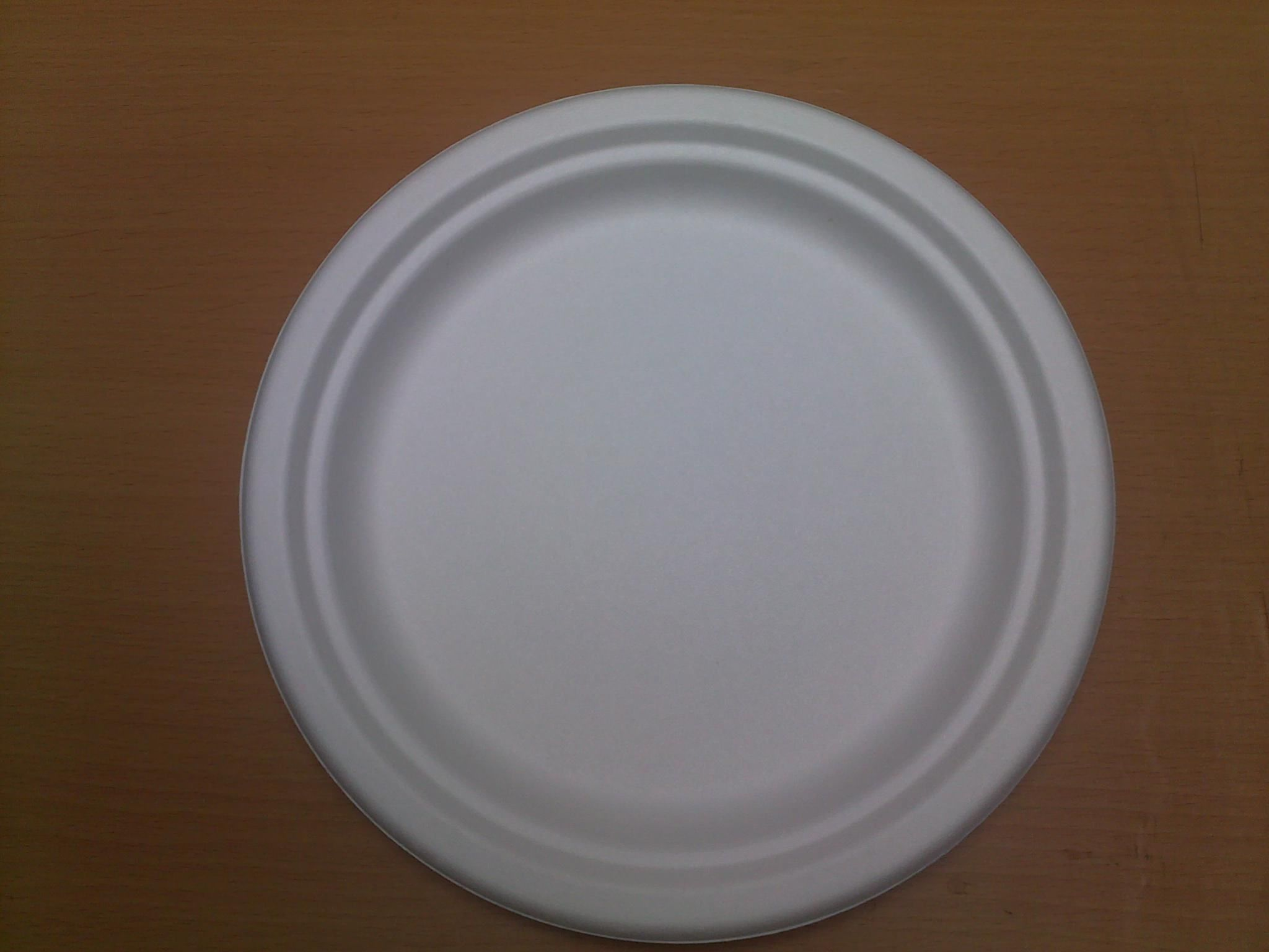 BIODEGRADABLE , CORN STARCH PLATES of DIFFERENT SIZES and