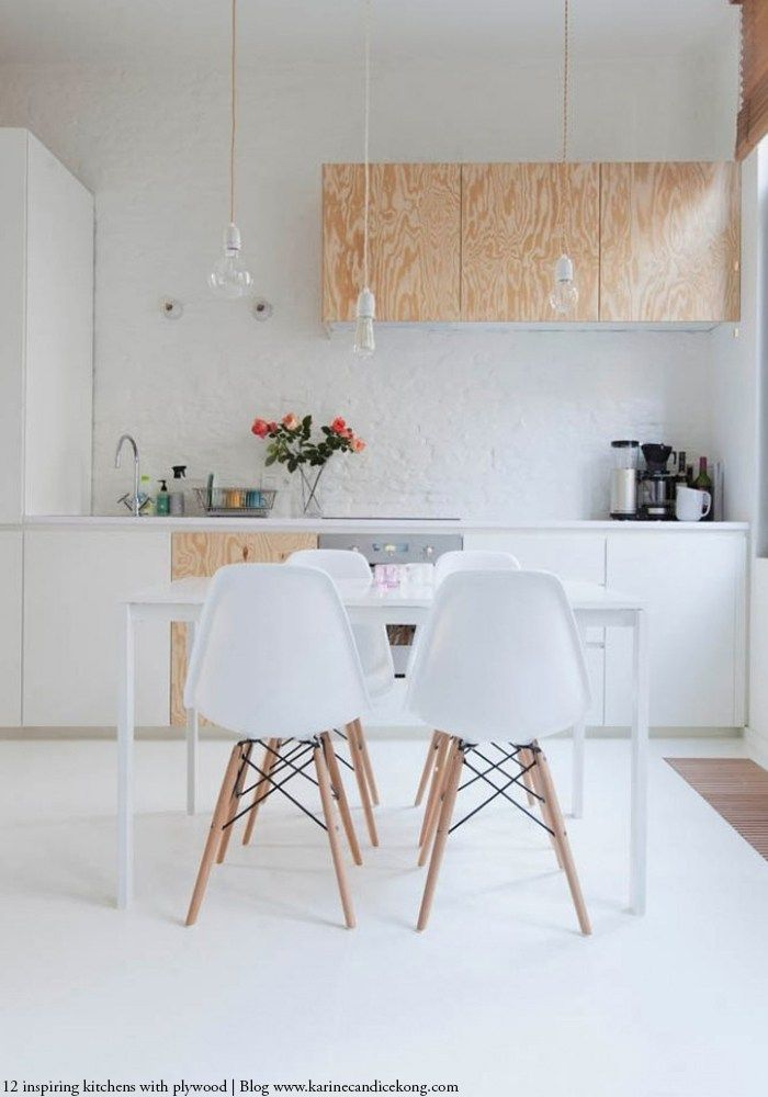 comment cr er une cuisine belle moderne en contreplaqu deco studio pinterest deco. Black Bedroom Furniture Sets. Home Design Ideas