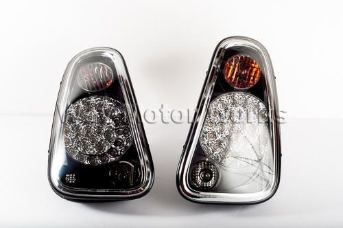 Black Led Tail Lights R50 R53 R52 Mini Coper 2005 Mini Cooper Led Tail Lights