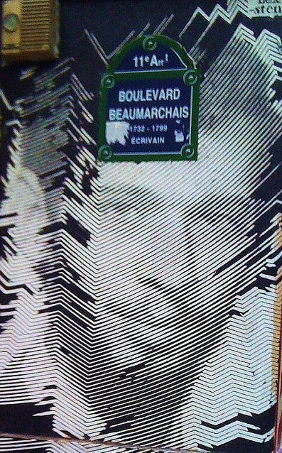 Le boulevard Beaumarchais  (Paris 3e/4e/11e)