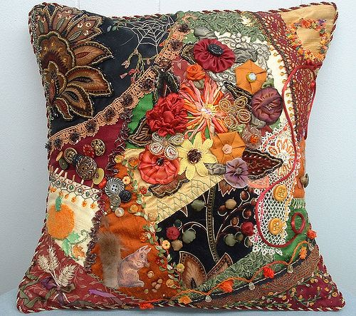 2008 Harvest Challenge Fall Pillow by Crazybydesign, via Flickr