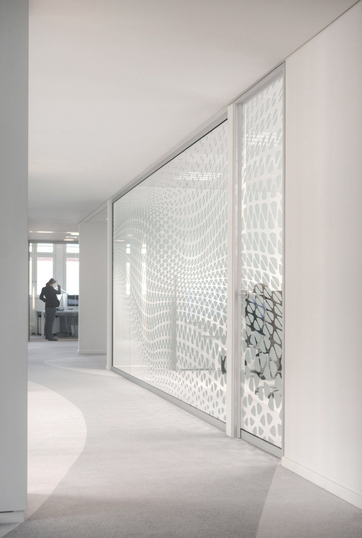 Window Wall Designs Glass Sticker Patterns Archi Workspace Glass Office Office