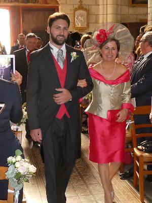 Tailleur de mariage robe de mariée Marie