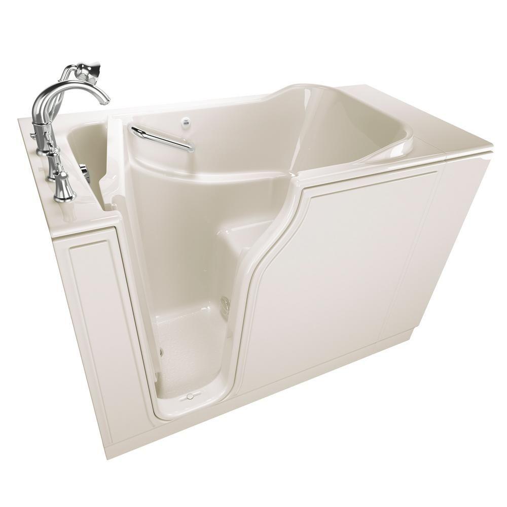American Standard Gelcoat Value Series 4.2 ft. Walk-In Soaking Tub ...