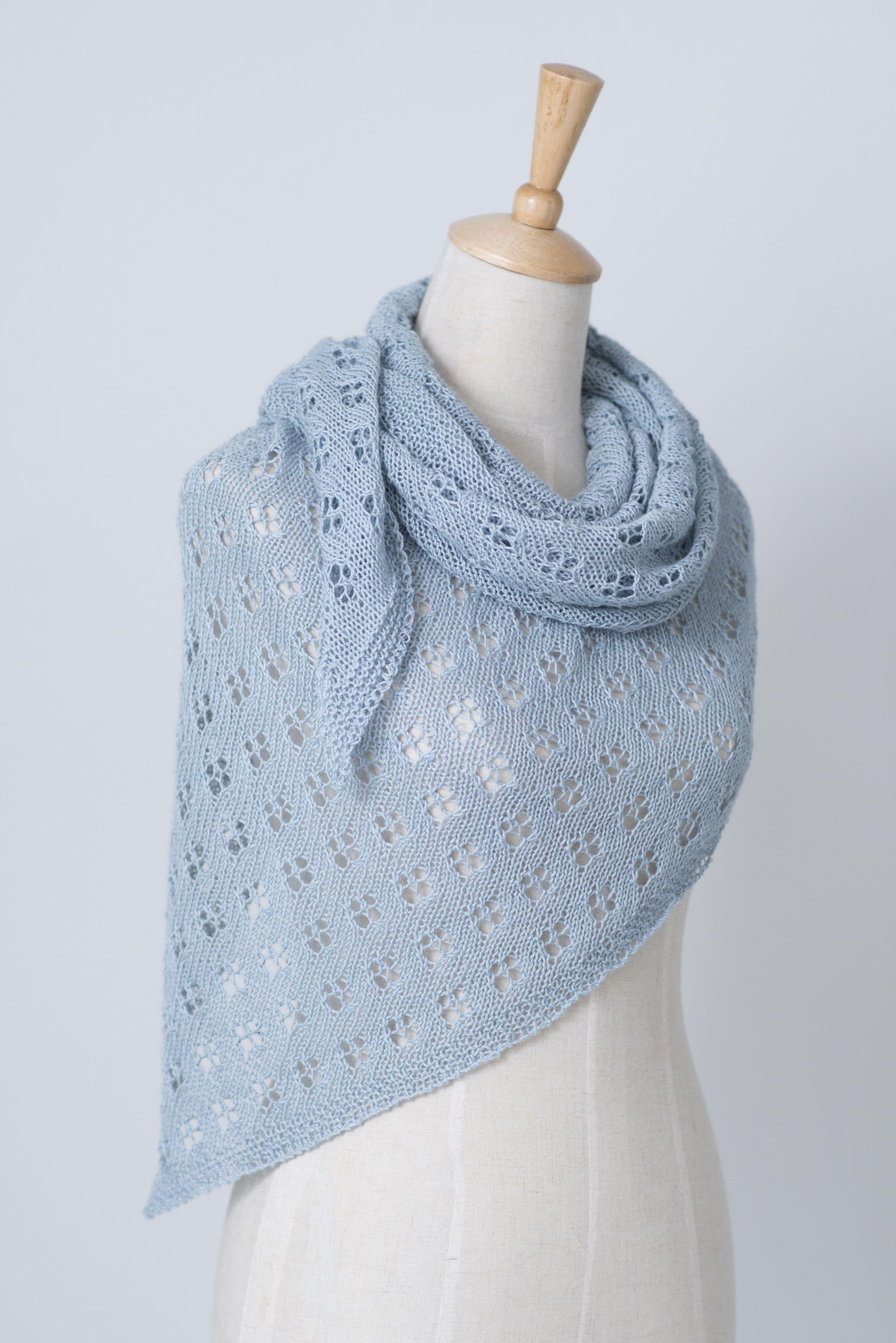 Quatrefoil Pattern By Janina Kallio Knit Shop Knitting