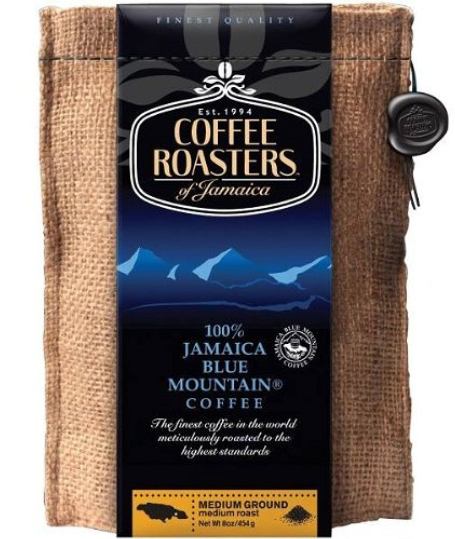 Coffee Roasters of Jamaica 16oz - 100% Jamaica Blue Mountain Ground Coffee by Coffee Roasters of Jamaica -- Awesome products selected by Anna Churchill