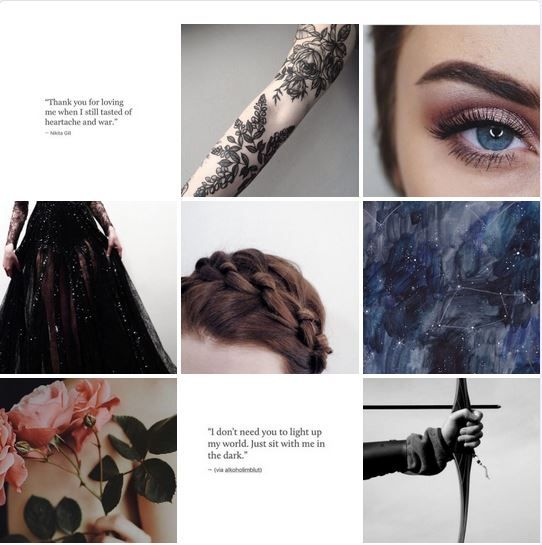 A Court Of Thorns And Roses Characters Feyre Archeron With