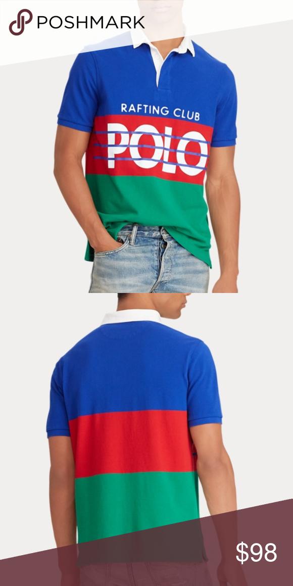 793fa31165a Polo Ralph Lauren Hi Tech Mesh Rafting Club Shirt Rare and new with tags,  men's