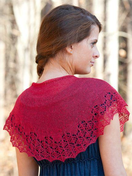 Silky Alpaca Lace Shawlette Free Pattern To Knit Or Crochet
