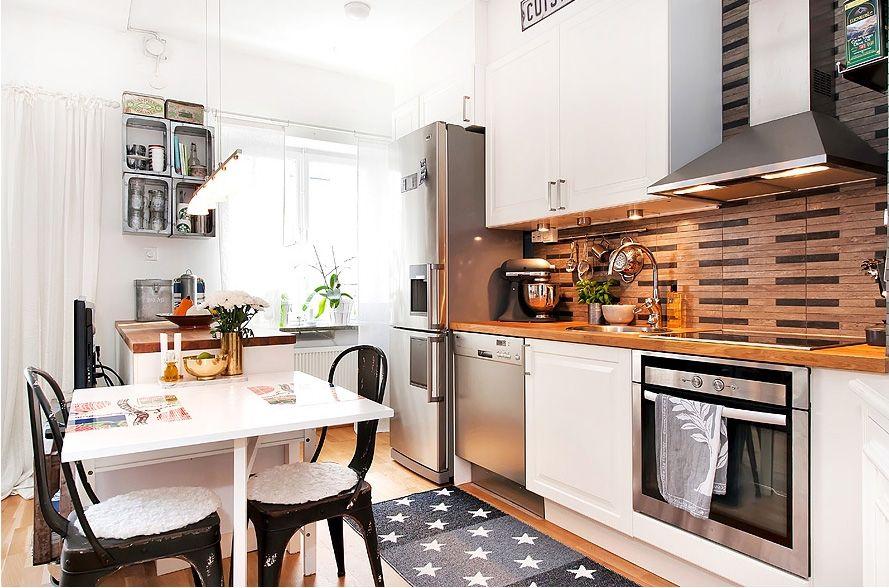 Diseno de cocina rustica 15 encantadoras cocinas shabby - Diseno de interiores pisos pequenos ...